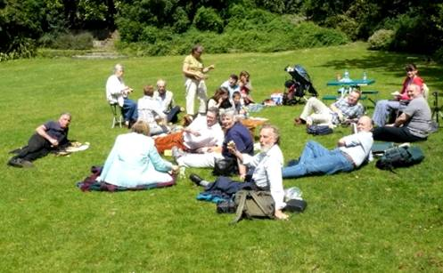 Flamsteed summer picnic 2008 by Mike Dryland