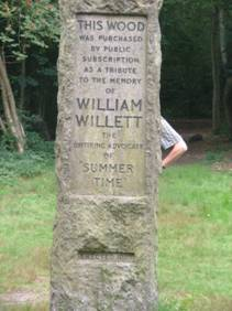 Willett memorial in Petts Wood by Mike Dryland
